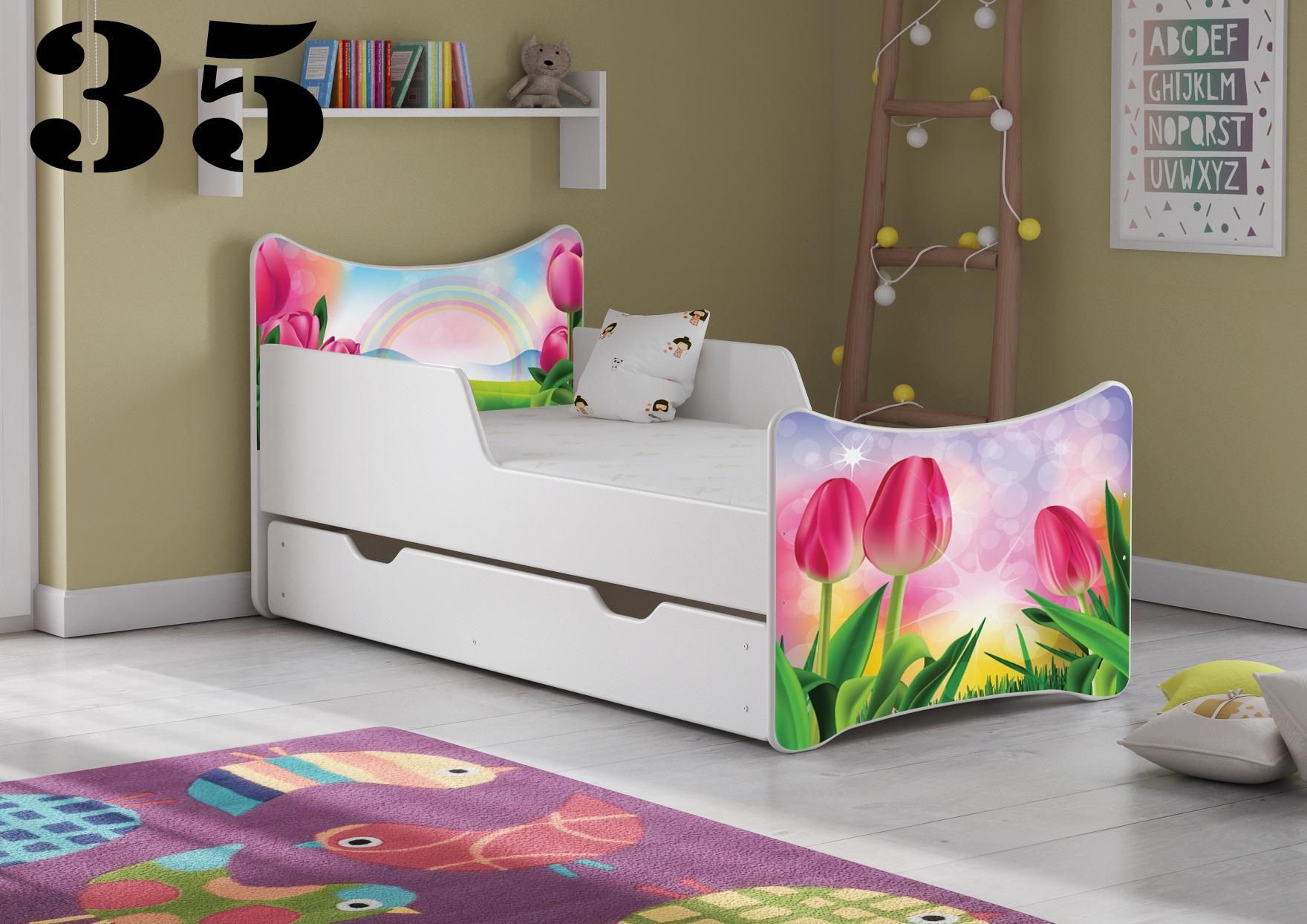 Detská posteľ SMB Pes a mačka 16 Prevedenie: Obrázok č.35
