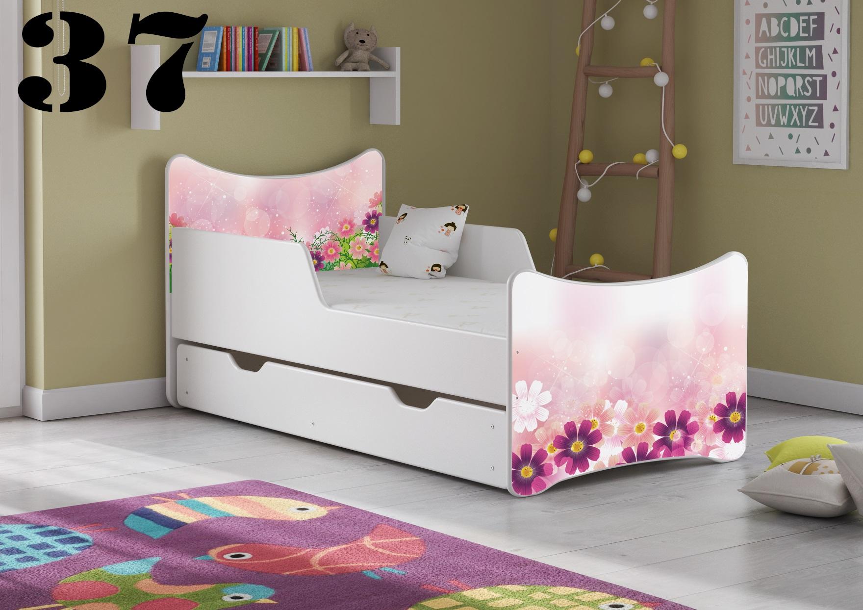Detská posteľ SMB Pes a mačka 16 Prevedenie: Obrázok č.37