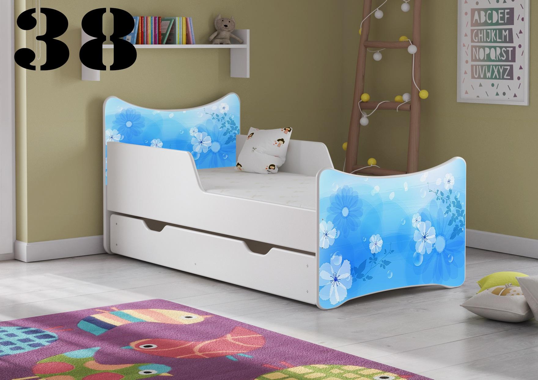 Detská posteľ SMB Pes a mačka 16 Prevedenie: Obrázok č.38
