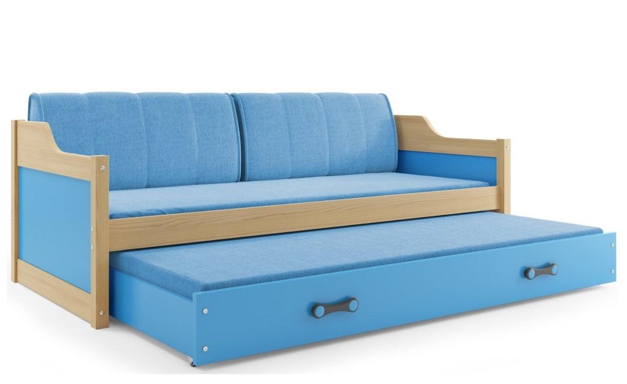 a5549140b8ab BMS Detská posteľ DAWID  BOROVICA 200x90 Farba  Biela - Môj moderný ...