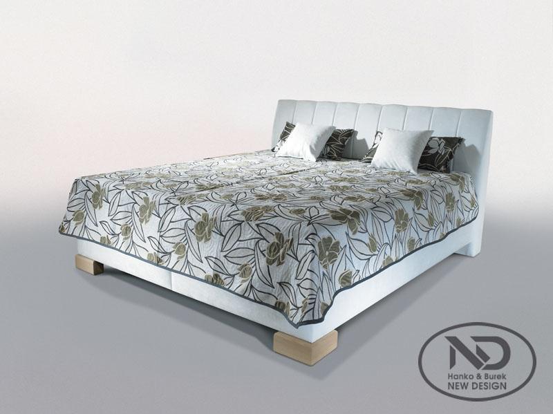 ArtND Manželská posteľ Cassa 160 Varianta: s roštom / ND3 s matracom CONTINENTAL