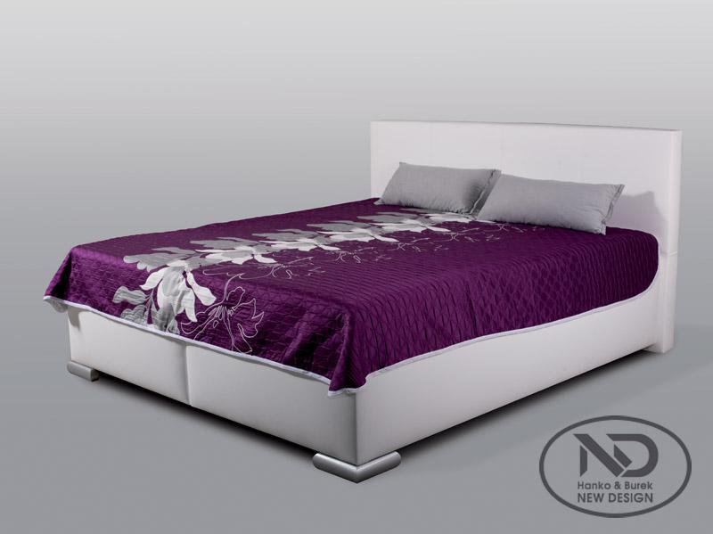 ArtND Manželská posteľ Mia 160 Varianta: s roštom ND4 / bez matraca
