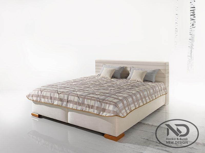 ArtND Manželská posteľ Grota 160 Varianta: s roštom ND4 / bez matraca
