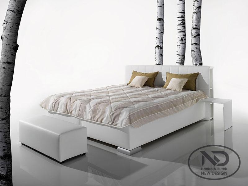 New Design Manželská posteľ Libro 160 Varianta: s roštom ND4 / s matracom SABI