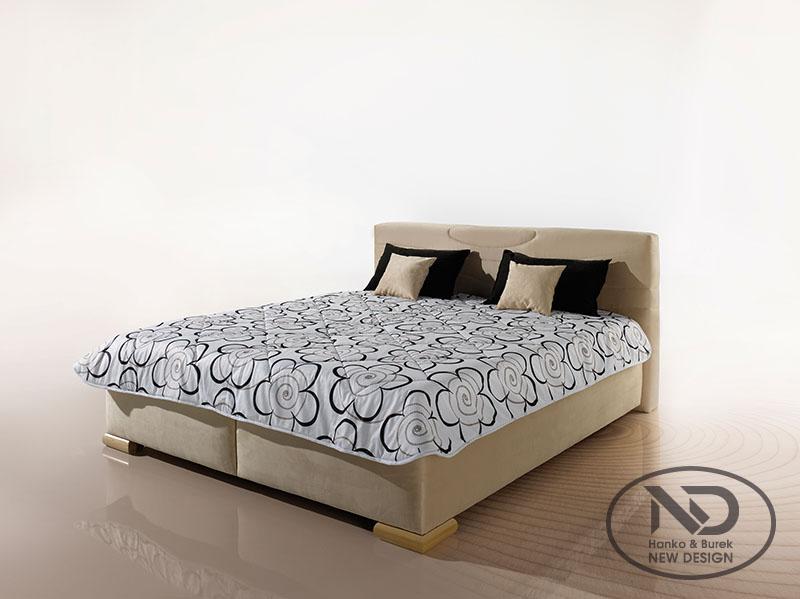 ArtND Manželská posteľ Acero 160 Varianta: s roštom ND4 / bez matraca