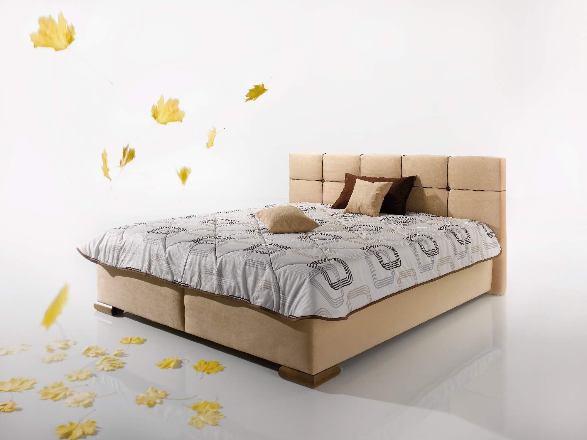 ArtND Manželská posteľ Lastra 160 Varianta: s roštom ND4 / s matracom BAZI