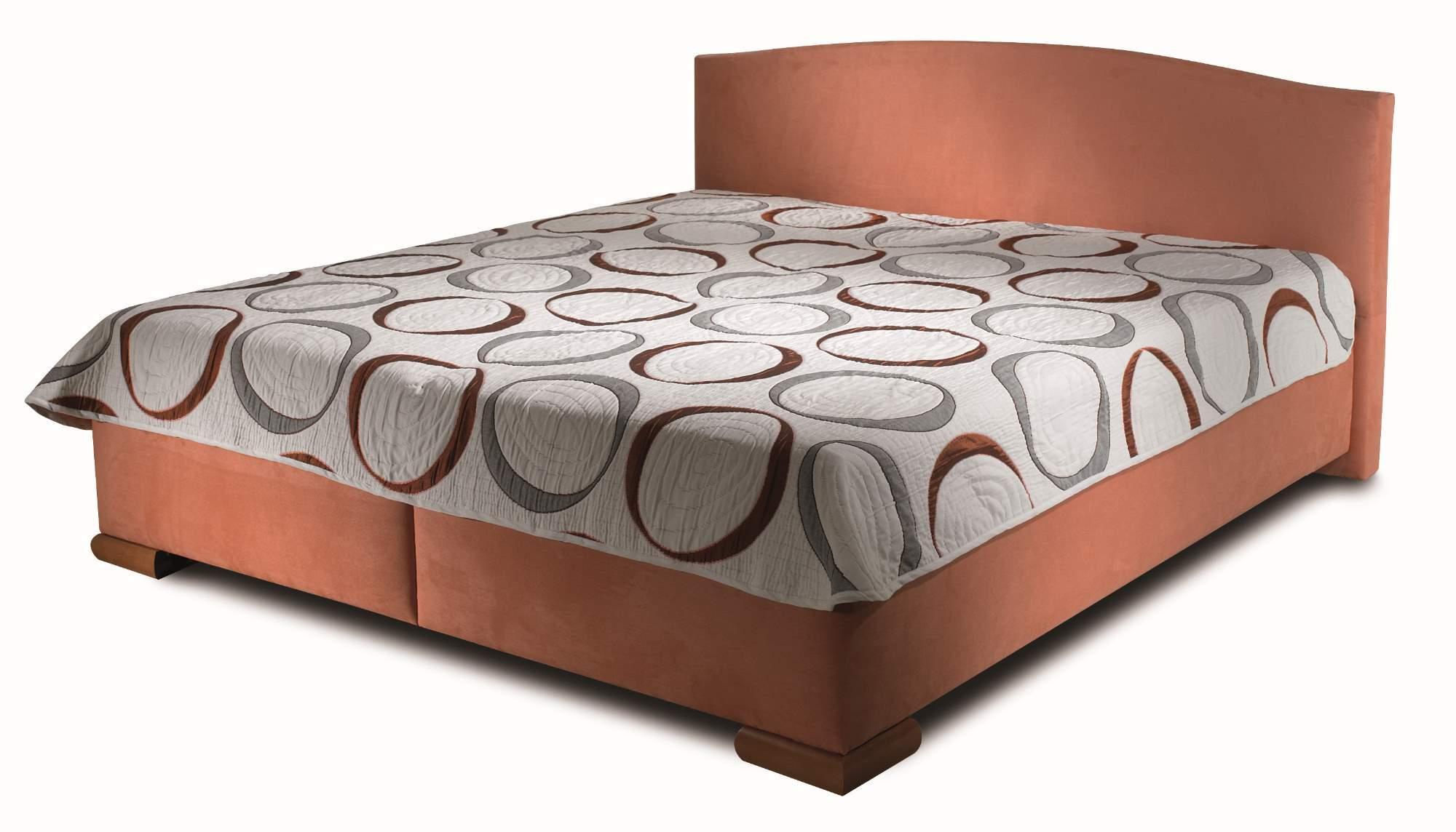 ArtND Manželská posteľ Barbara 160 Varianta: s roštom / bez matraca