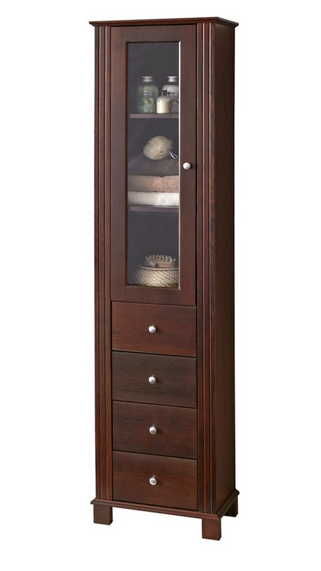 ArtCom Kúpeľňová zostava RETRO Retro: Vysoká skrinka Retro 1D4S - 800 / (ŠxVxH) 46 x 180 x 35 cm