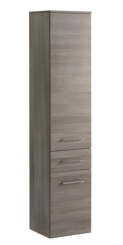ArtCom Kúpeľňová zostava COSMO   avola sivá Cosmo: Vysoká skrinka Cosmo 2D1S - 800 / (ŠxVxH) 35 x 170 x 33 cm