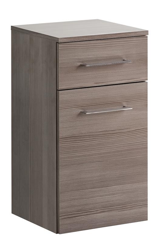 ArtCom Kúpeľňová zostava COSMO   avola sivá Cosmo: Nízka skrinka Cosmo 1D1S - 810 / (ŠxVxH) 35 x 67 x 33 cm