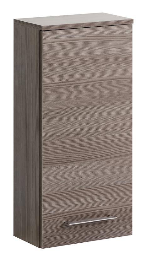 ArtCom Kúpeľňová zostava COSMO   avola sivá Cosmo: Horná skrinka Cosmo 1D - 830 / (ŠxVxH) 35 x 75 x 20 cm