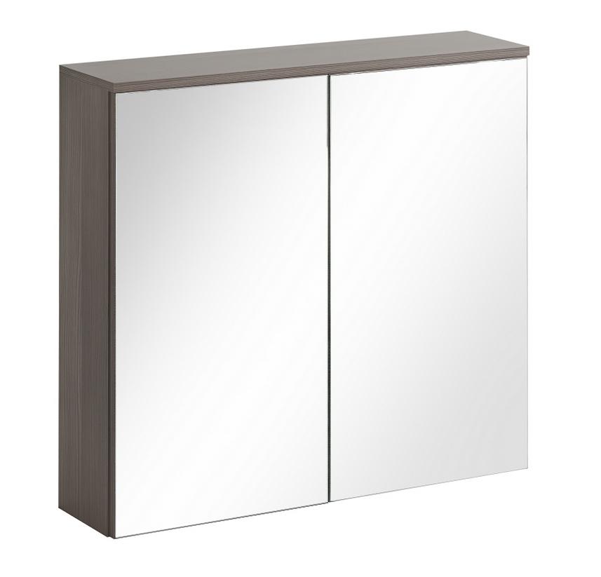 ArtCom Kúpeľňová zostava COSMO | avola sivá Cosmo: Skrinka do zrkadlom Cosmo 60 - 840 cm / (ŠxVxH) 60 x 75 x 20 cm