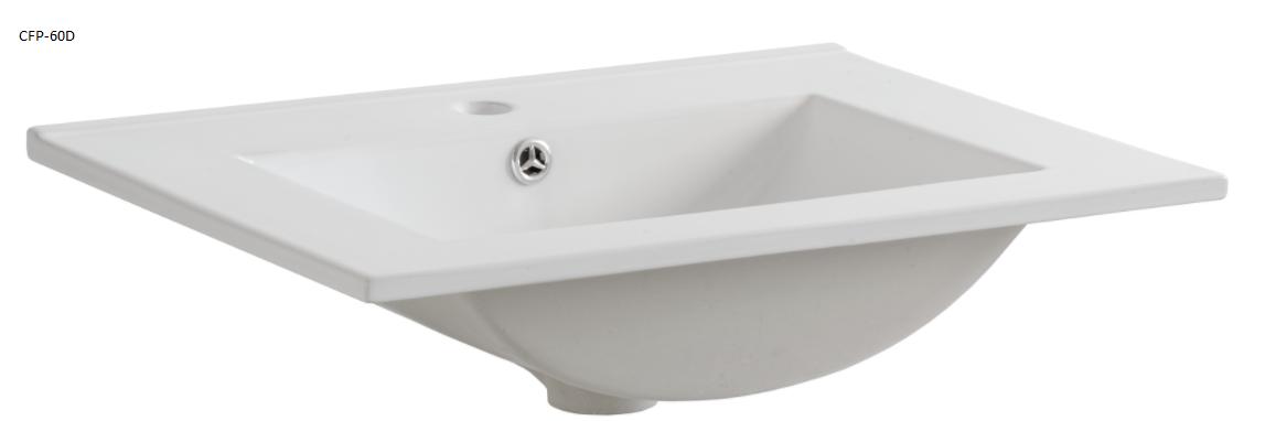 ArtCom Kúpeľňová zostava COSMO   avola sivá Cosmo: Umývadlo CFP - 60D / 60 cm