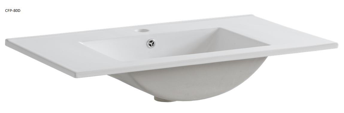 ArtCom Kúpeľňová zostava COSMO   avola sivá Cosmo: Umývadlo CFP - 80D / 80 cm