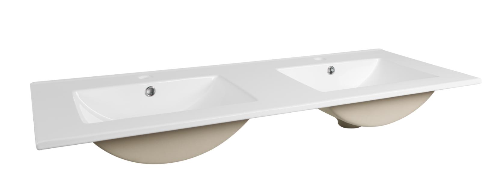 ArtCom Kúpeľňová zostava COSMO   avola sivá Cosmo: Umývadlo CFP - 120D / 120 cm