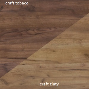 WIP Závesná skrinka SOLO SOL 04 Farba: Craft zlatý / craft tobaco