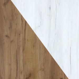 WIP Závesná skrinka KITTY 14 Farba: craft zlatý / craft biely