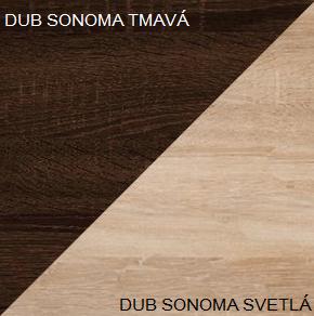 WIP Predsieň 4 Farba: Dub sonoma tmavá / dub sonoma svetlá