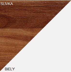 WIP Predsieňová stena LUNA Farba: Slivka / biela