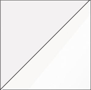 WIP Konferenčný stolík GAMMA Farba: Biela / biely lesk