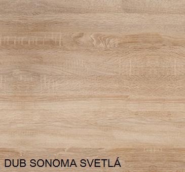 WIP PC stolík KUBA Farba: dub sonoma