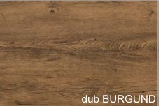 WIP PC stolík KUBA Farba: dub burgund