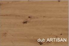 WIP PC stolík KIER Farba: Dub artisan