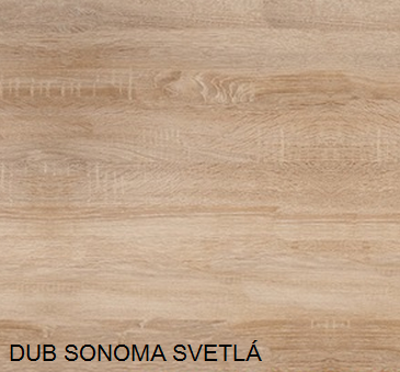 WIP Komoda K1-2D-2S Farba: dub sonoma