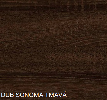 WIP Komoda K1-2D-2S Farba: DUb sonoma tmavá