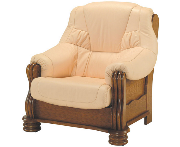 PYKA Kožená sedacia súprava ADAM Prevedenie: Kreslo