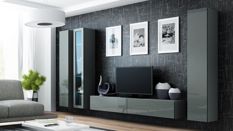 Artcam Obývacia stena VIGO II sivá
