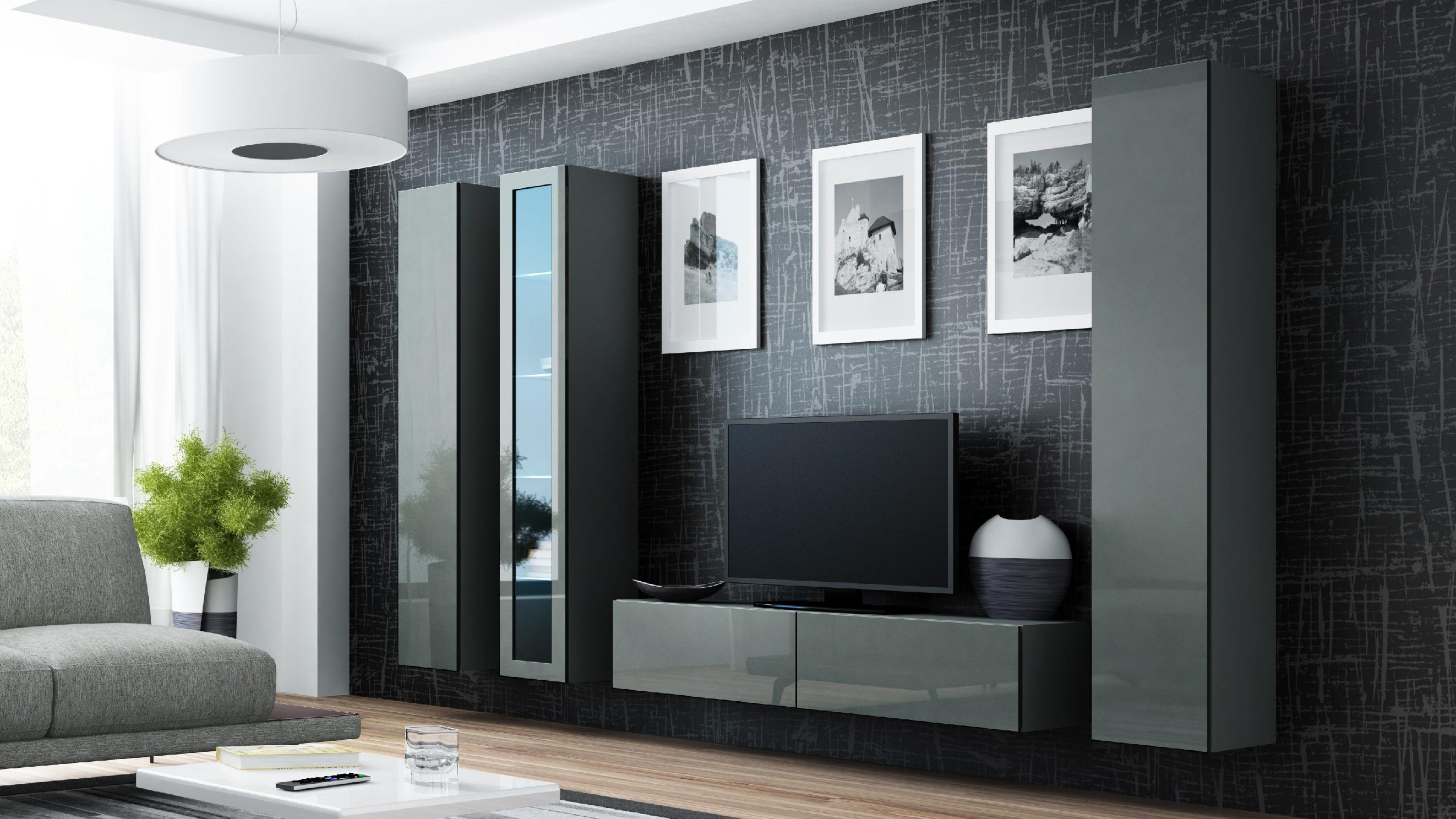Artcam Obývacia stena VIGO 15 sivá