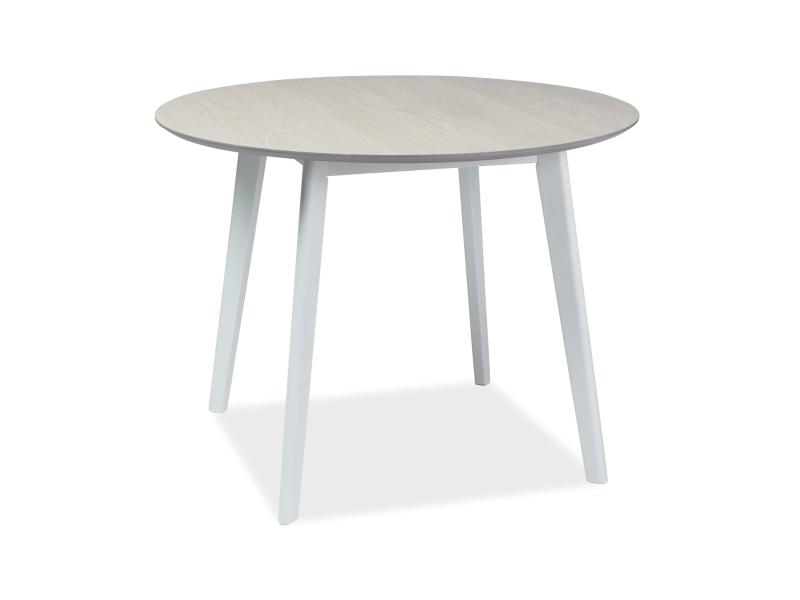 Signal Jedálenský stôl MOSSO II / bielený dub