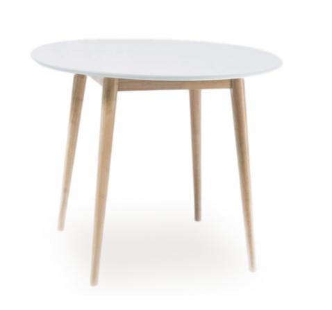 Signal Okrúhly jedálenský stôl LARSON