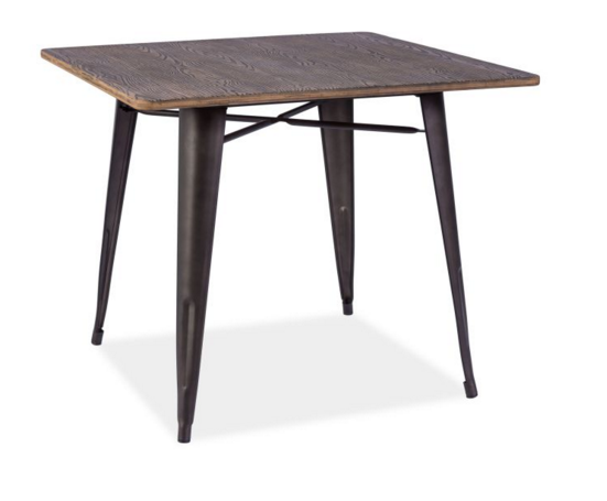 Signal Jedálenský stôl ALMIR Farba: orech/grafit