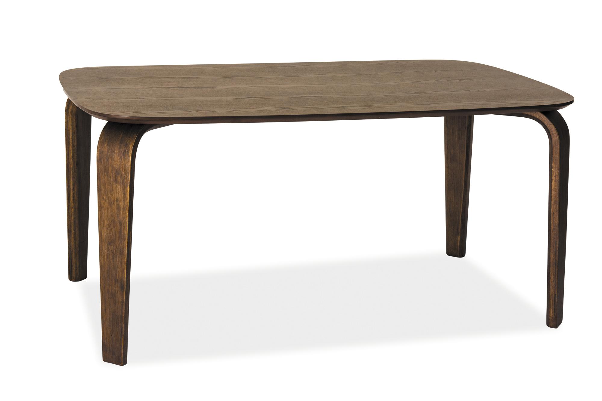 Signal Jedálenský stôl MEZZO / tmavý orech