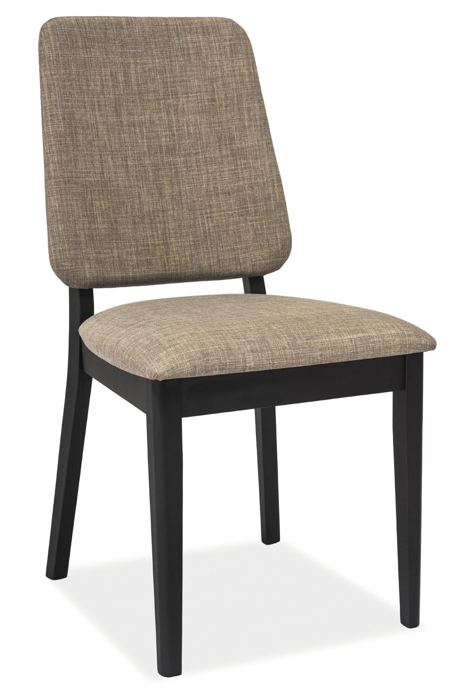 Signal Jedálenská stolička FIORI / sivá