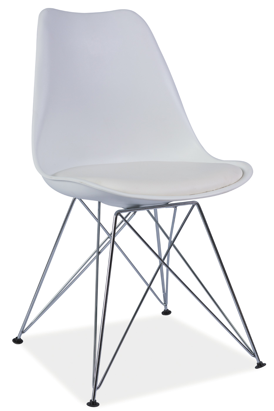 Signal Jedálenská stolička TIM Farba: Biela