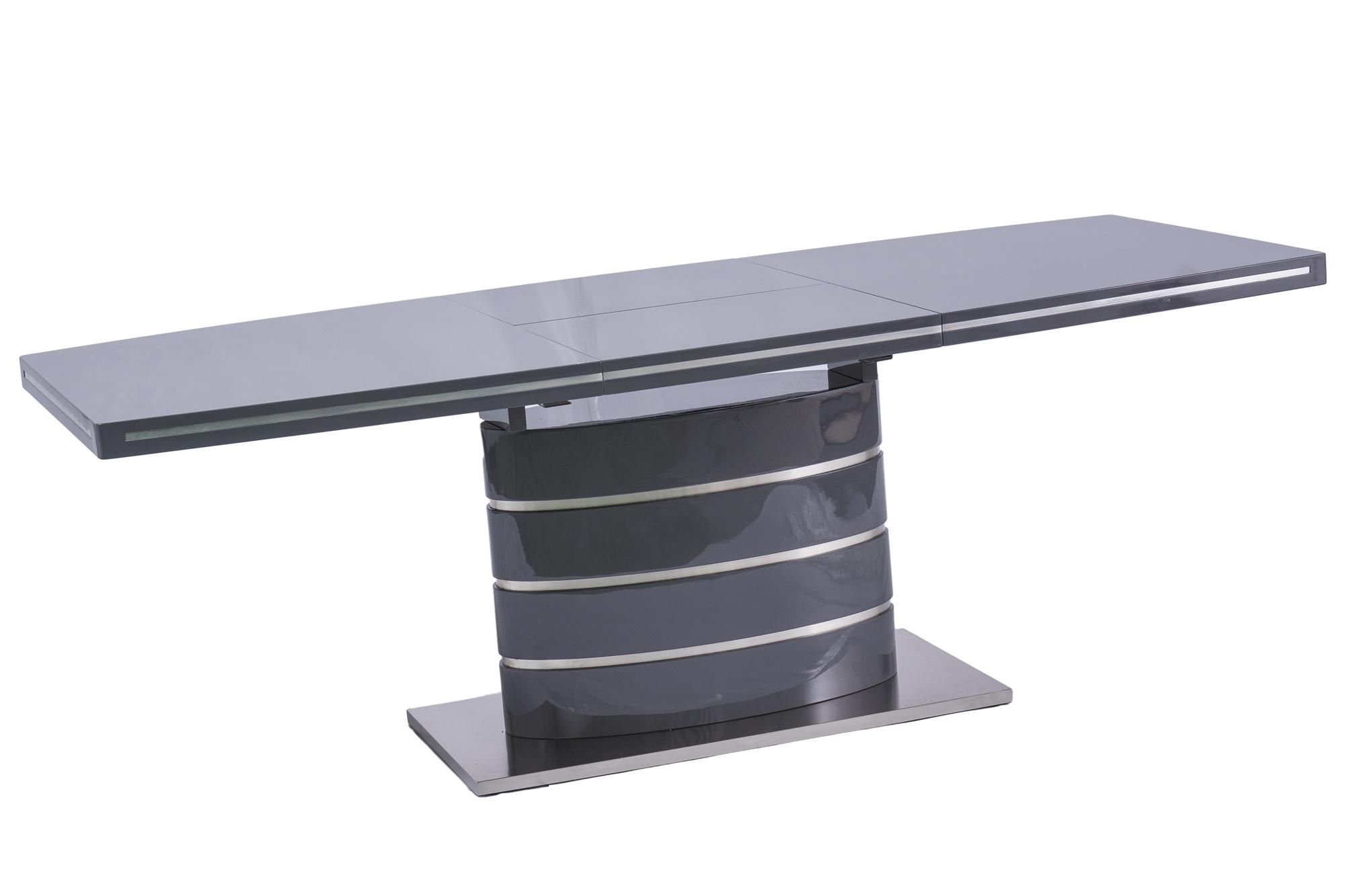 Signal Jedálenský stôl FANO / sivý lak
