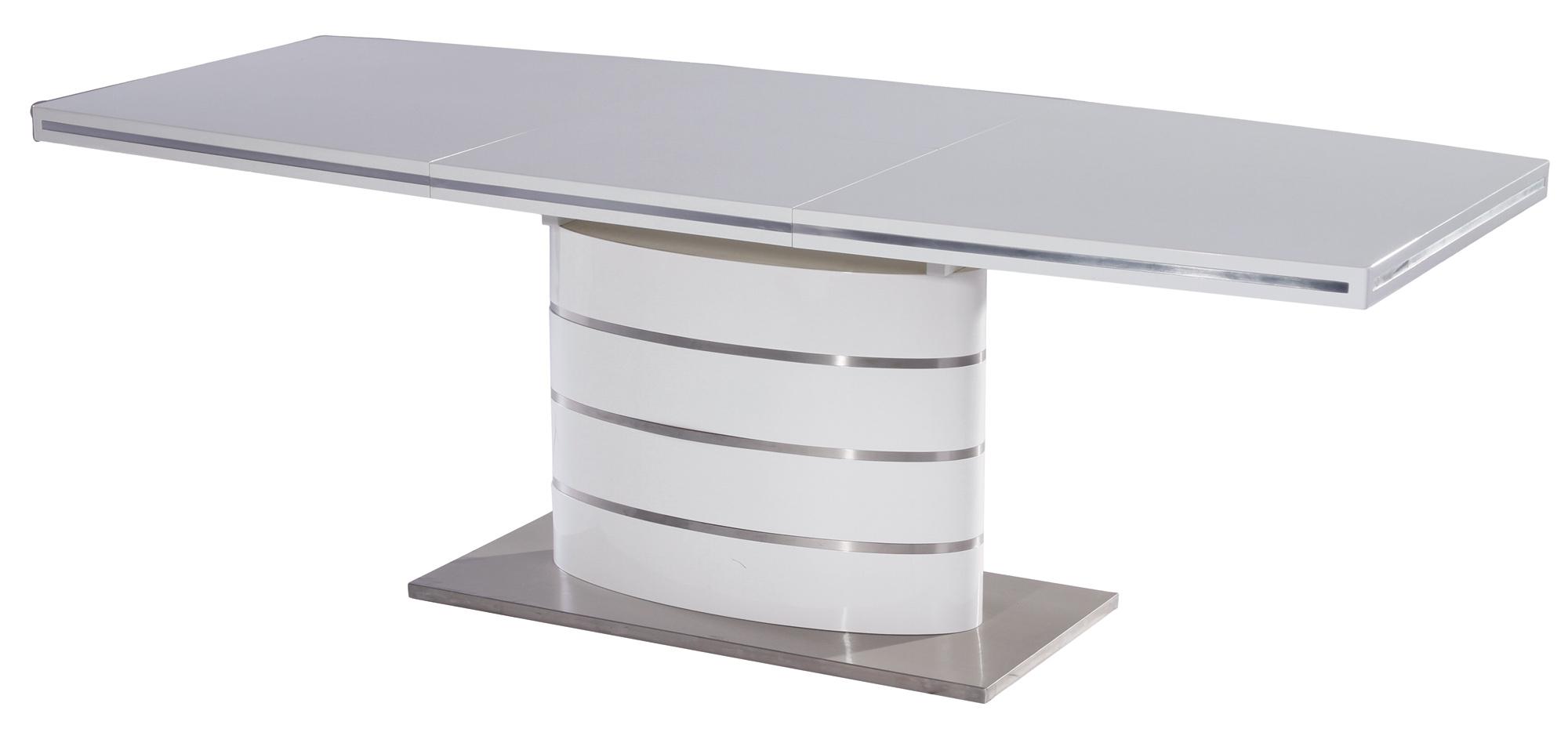 Signal Jedálenský stôl FANO / biely lak Prevedenie: 90 x 160 cm