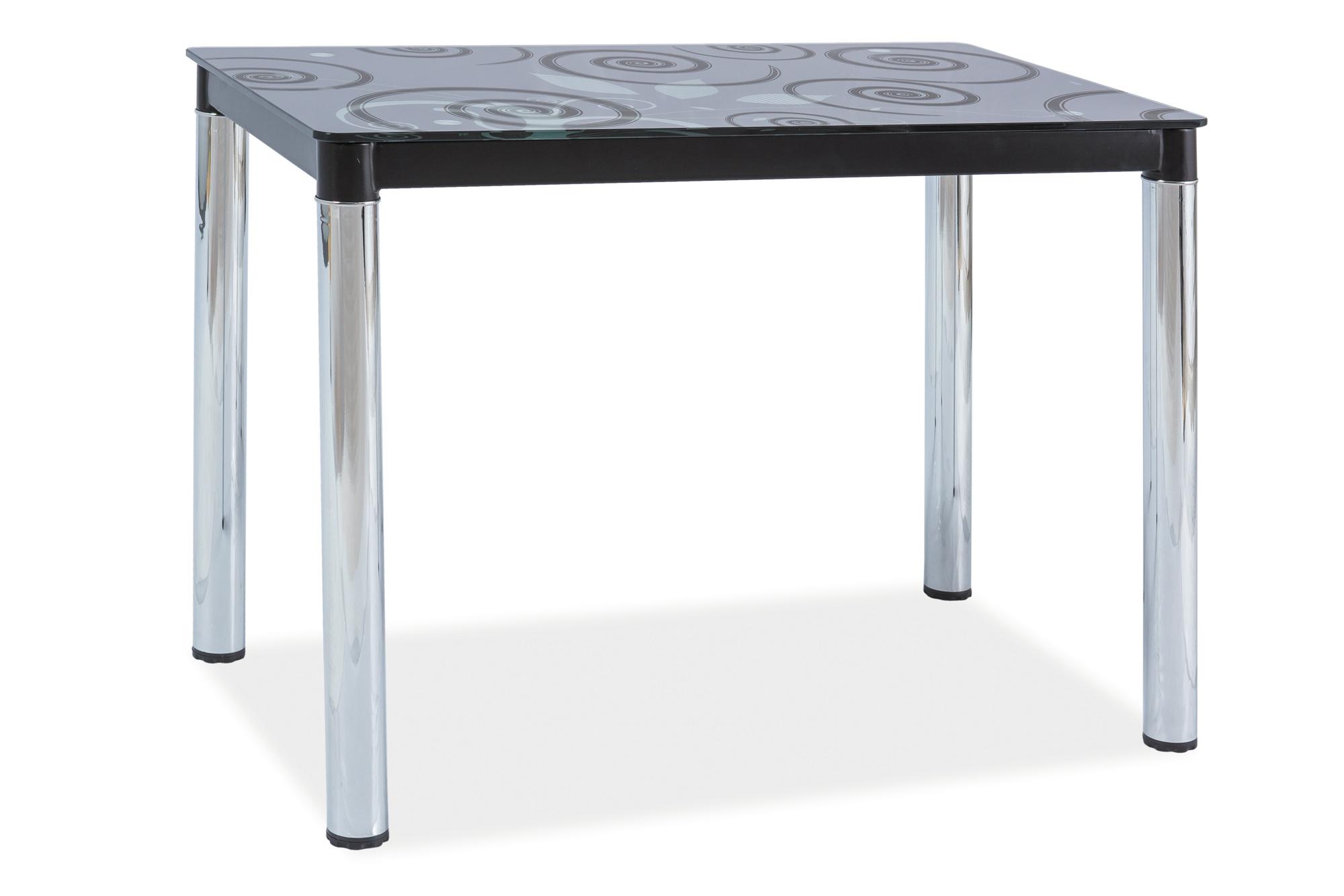 Signal Jedálenský stôl DAMAR II Farba: Čierna