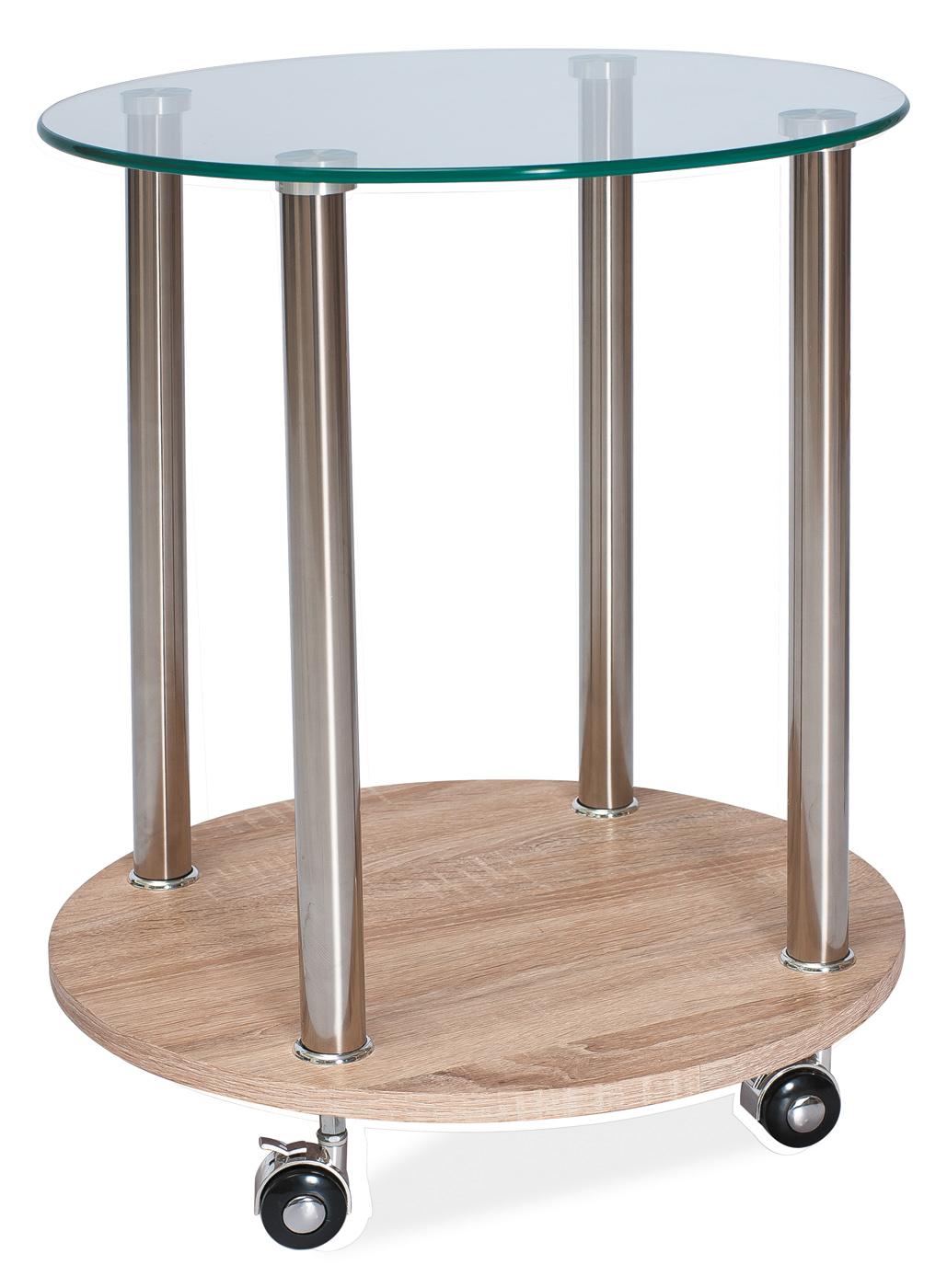 Signal Príručný stolík CARLA