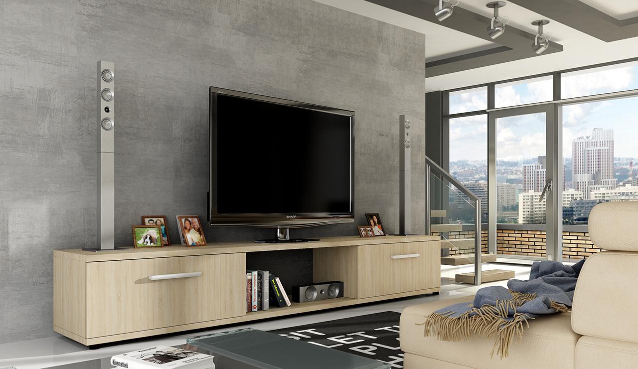 ArtAdr TV stolík ARIDEA / dub sonoma