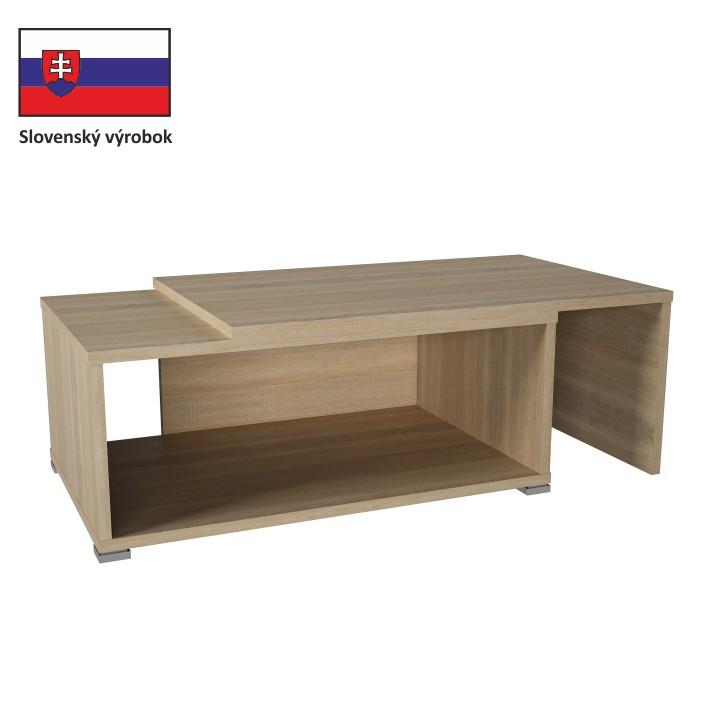 Tempo Kondela Konferenčný rozkladací stôl DRON dub sonoma