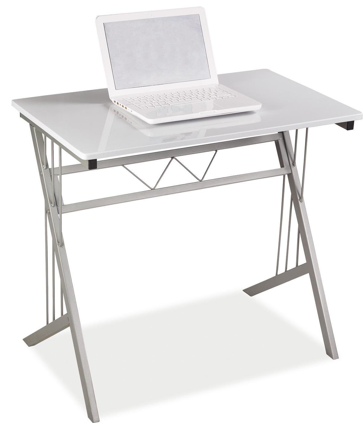 Signal PC stôl B-120 Farba: Biela