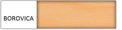 Drewmax Manželská posteľ - masív LK117 / 180 cm borovica Farba: Borovica