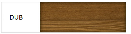 Drewmax Manželská posteľ - masív LK117 / 180 cm borovica Farba: Dub