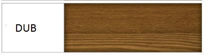 Drewmax Jednolôžková posteľ - masív LK118 / 120 cm borovica Farba: Dub