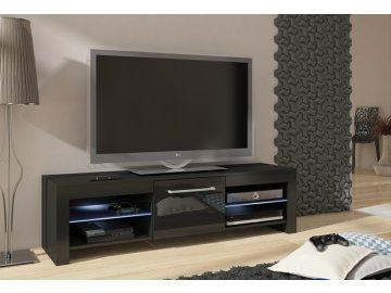 WIP TV STOLÍK FLEX Farba: Čierna/čierny lesk