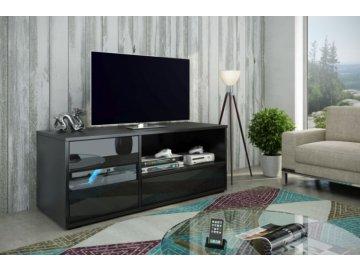 WIP Tv stolík Global Farba: Čierna/čierny lesk